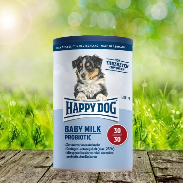 Happy Dog Baby Milk Probiotic 3 x 500 Gramm
