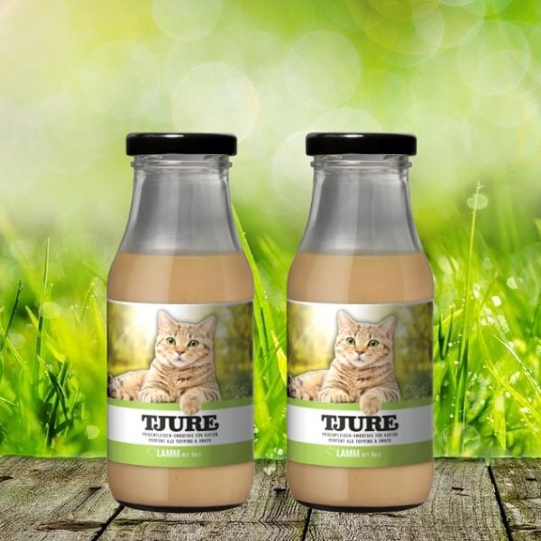 TJURE für Katze - Doppelpack Lamm & Reis