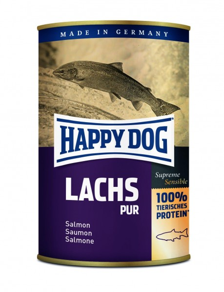 Happy Dog Dosen Lachs Pur
