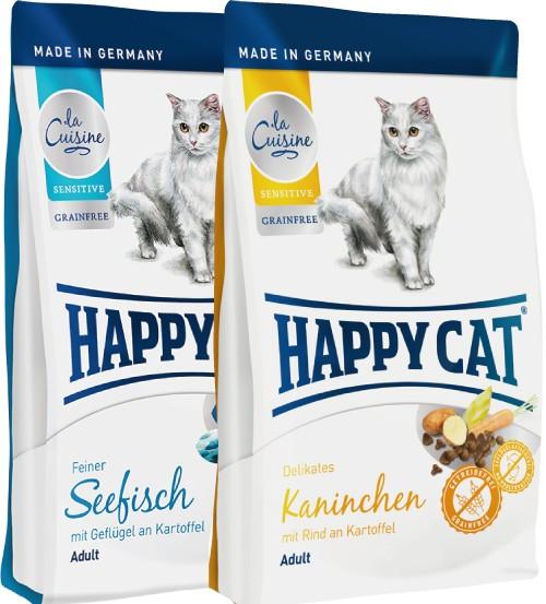Happy Cat La Cuisine verschiedene Sorten in 4 kg - OHNE GETREIDE