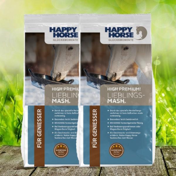 "Happy Horse High Premium ""Lieblings-Pellets"" - 2 x 14 Kg"