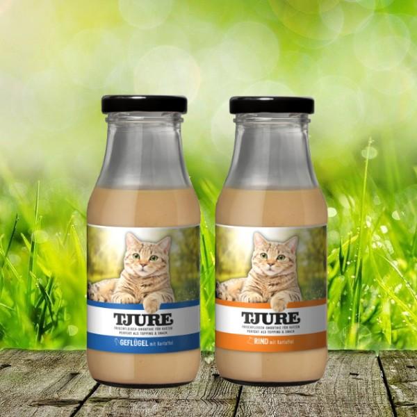 TJURE für Katze - Mixpaket Rind & Kartoffel + Geflügel & Kartoffel