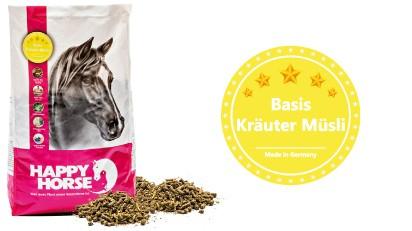 "Happy Horse High Premium ""Kräuter Müsli"" (Basis Kräuter Müsli)"