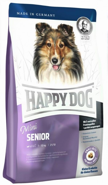 Happy Dog Mini Senior 4 kg + 1 kg *Gratis*