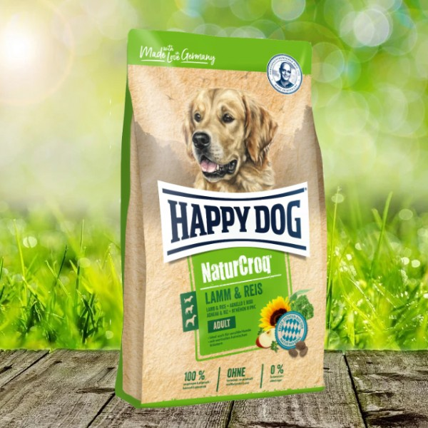 Happy Dog Premium NaturCroq Lamm und Reis