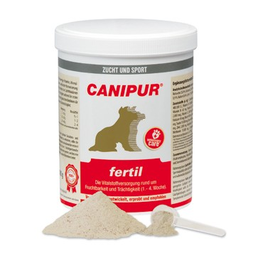 Canipur fertil + 400g Happy Dog Pur Dose *Gratis*