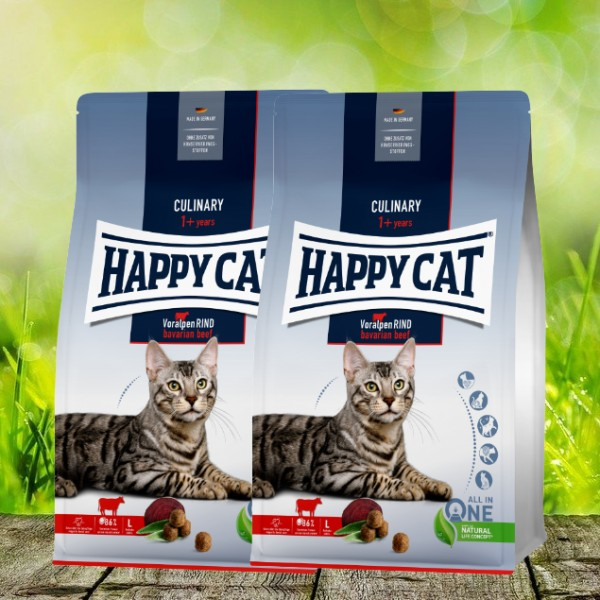 Happy Cat Culinary Adult Voralpen Rind 2 x 10 kg