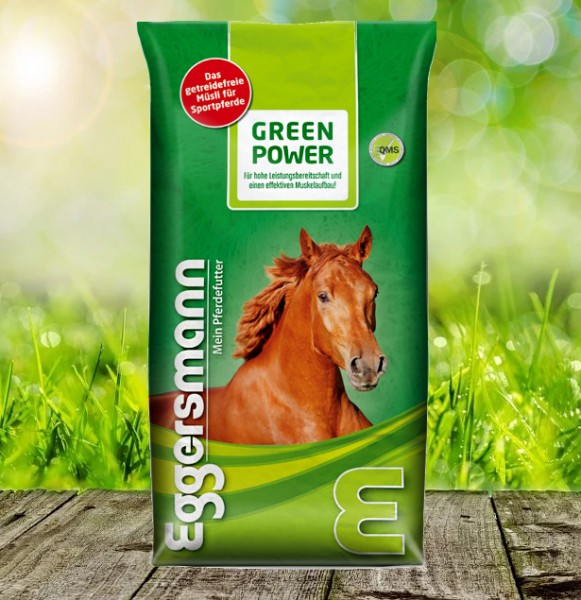 Eggersmann Green Power Müsli 15 kg