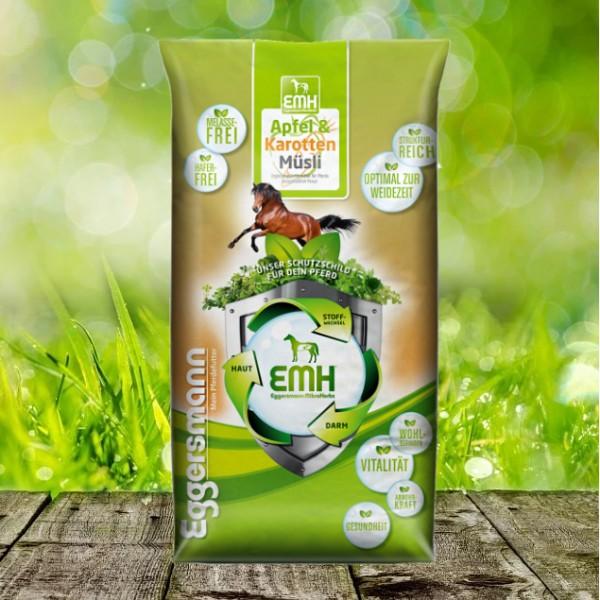 Eggersmann EMH Apfel & Karotten Müsli 15 kg - NEU ab dem 30.07.2020