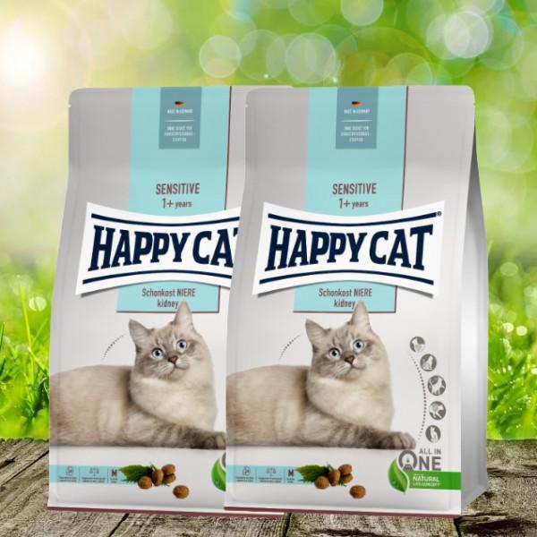 Happy Cat Sensitive Schonkost Niere 2 x 4 kg