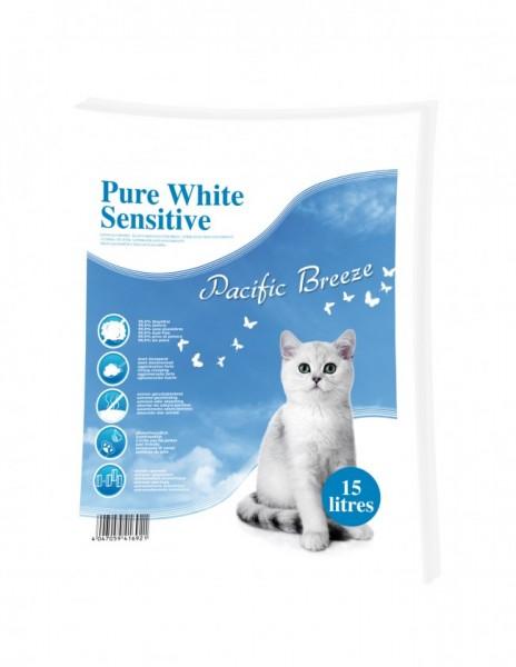 Happy Cat Sensitive Grainfree in verschiedenen Sorten 3 x 4 Kg + Katzenstreu Pacific Breeze