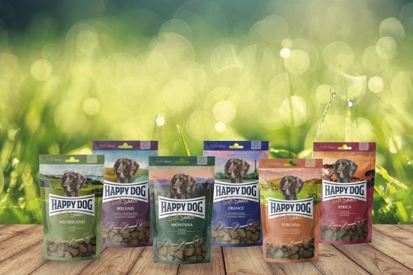 Vorteilspaket Happy Dog Soft Snack alle 6 Sorten