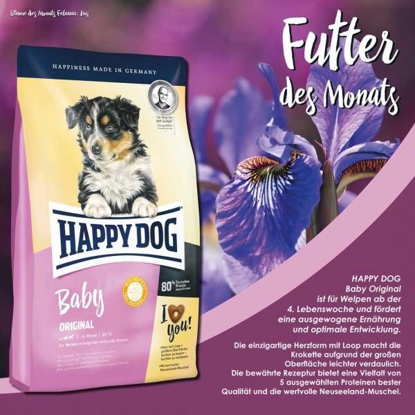 """Futter des Monats - Happy Dog """" Baby Original """" 10 kg"""