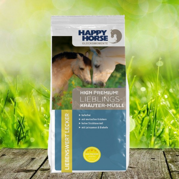 "Happy Horse High Premium ""Lieblings Kräuter Müsli"""