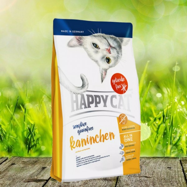 Happy Cat Sensitive Grainfree Kaninchen