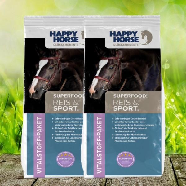 "Happy Horse Superfood ""Reis & Sport"" (Sensitive Rice) - 2 x 14 Kg"