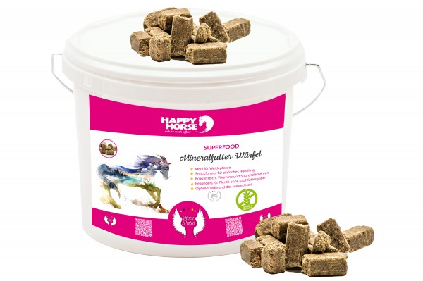 Happy Horse Superfood Mineralfutter Würfel 5 kg