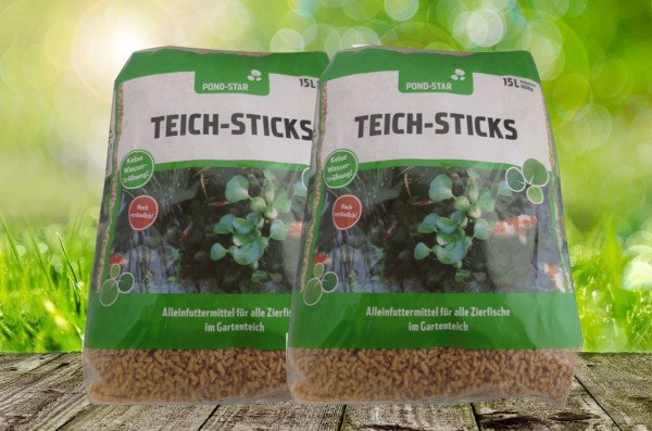 Pond Star Teich Sticks