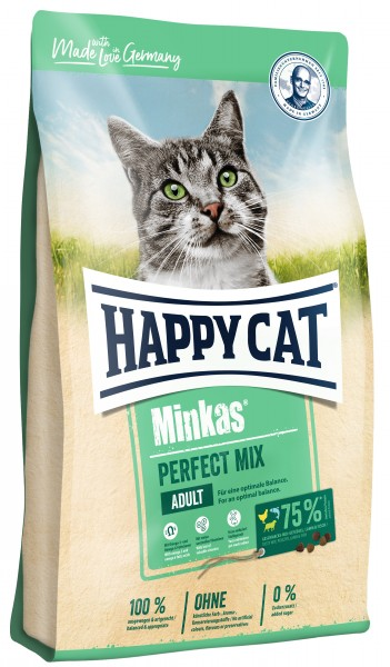 Happy Cat Minkas Perfect Mix Geflügel, Fisch & Lamm