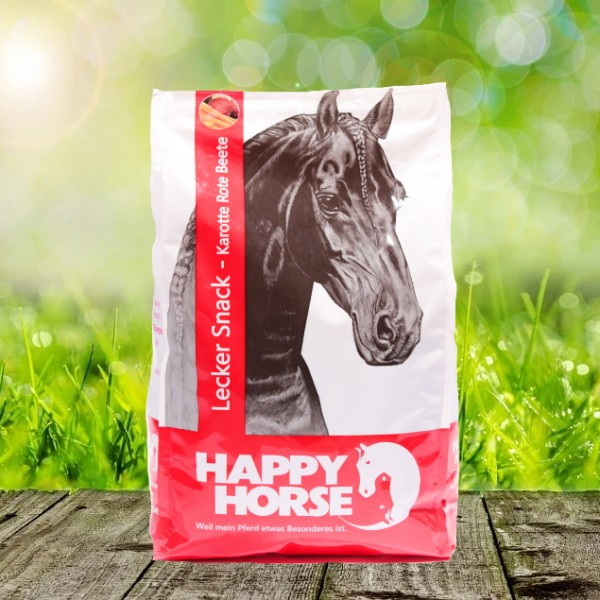 Happy Horse Lecker Snack Karotte Rote Beete 7 x 1 kg