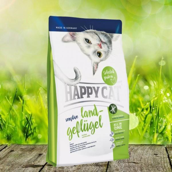 Happy Cat Sensitive Land Geflügel
